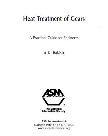 مرجع رفتار حرارتی چرخ دنده ها